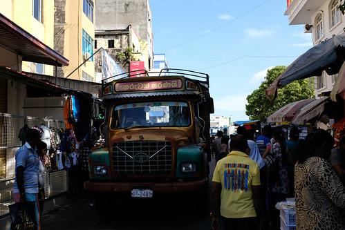 スリランカの街並み