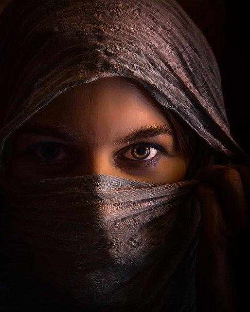 ムスリムの女性