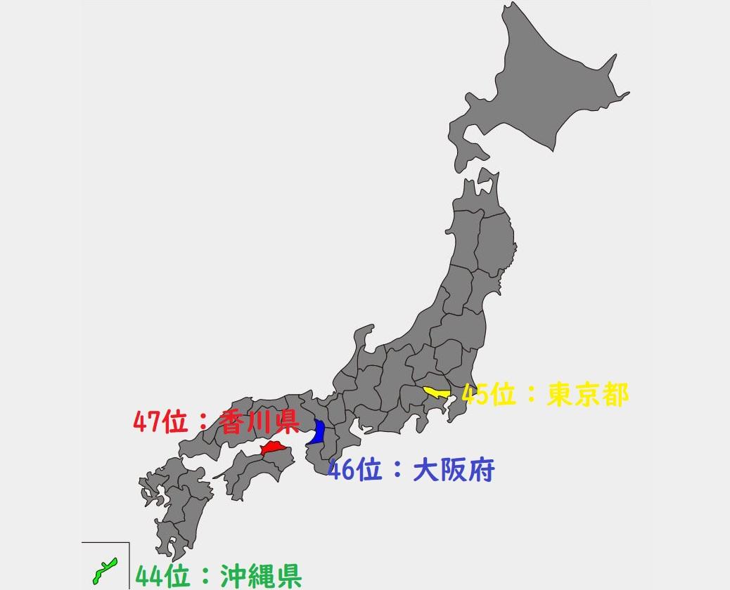 ランキング 日本 面積 【全国の村】人口ランキング・面積ランキング・人口密度ランキング