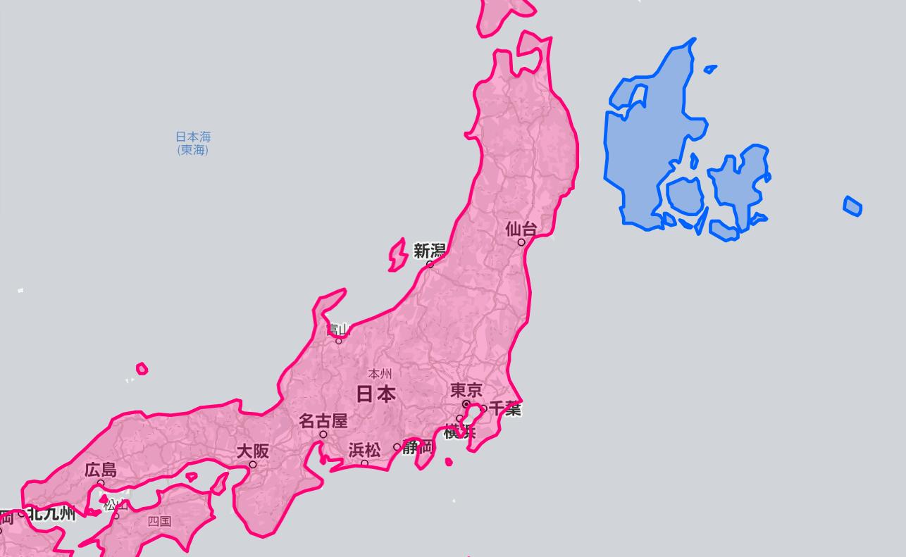 本州と比較