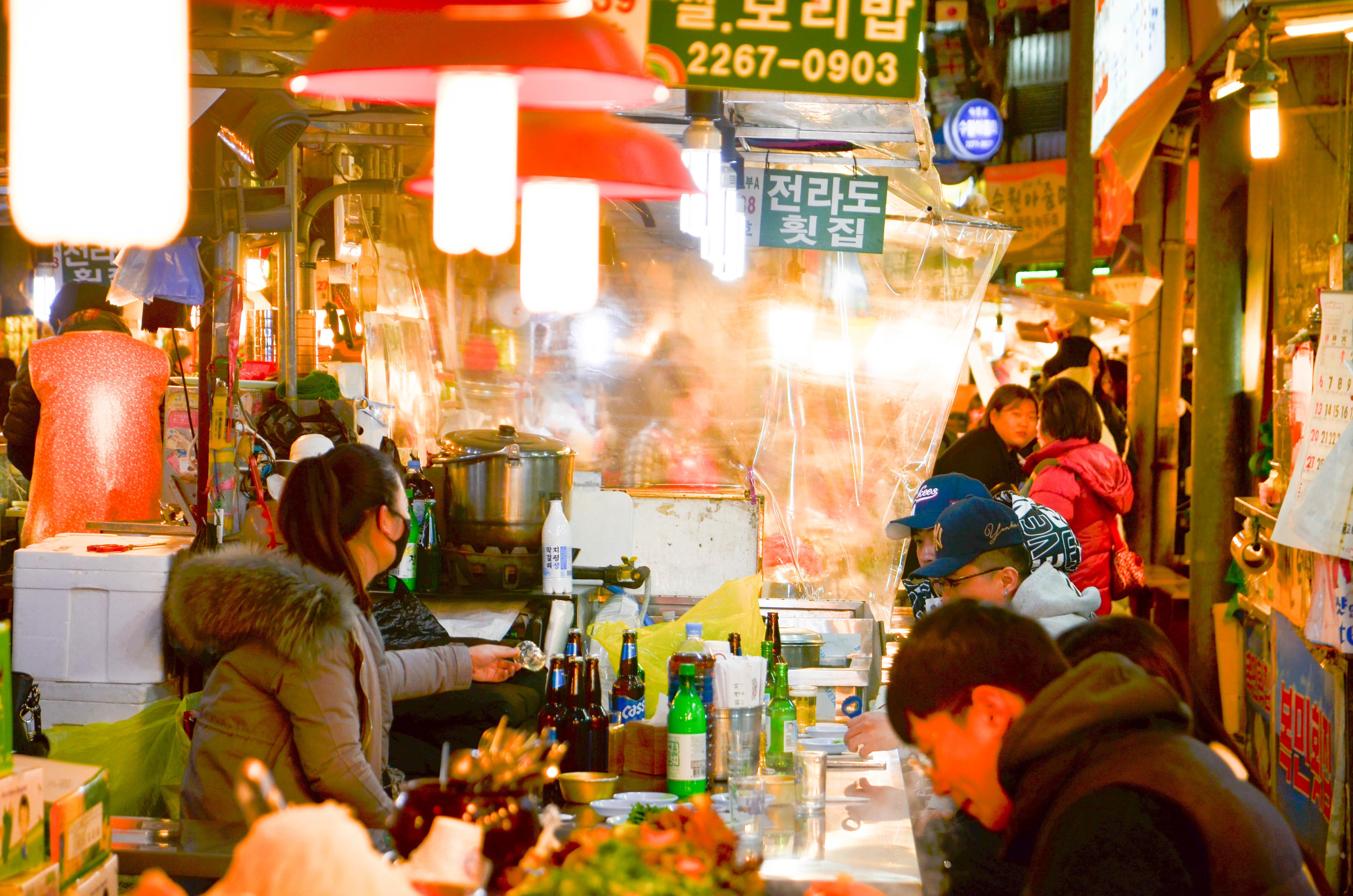 広蔵市場のおいしい有名店5選!韓国で人気の絶品グルメをご紹介!