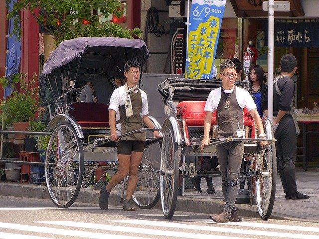 浅草の人力車はどれがおすすめ?5つある浅草の人力車の料金やコースなどをご紹介!