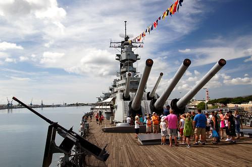 戦艦ミズーリ記念館がスゴイ!ハワイのパールハーバーにある記念館を解説!
