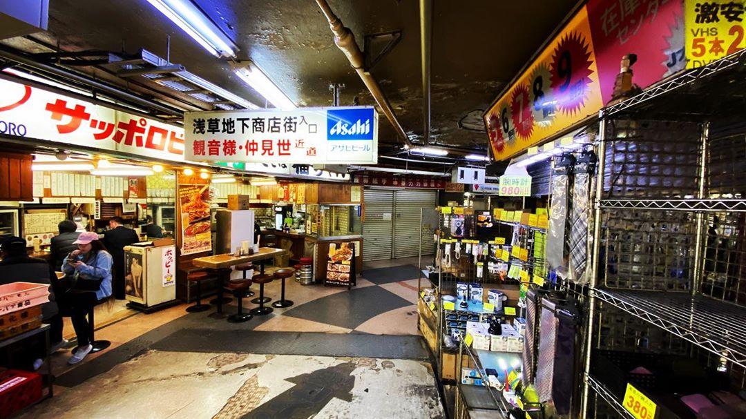 浅草のディープな地下街がアツい!レトロな商店街の見どころをご紹介!