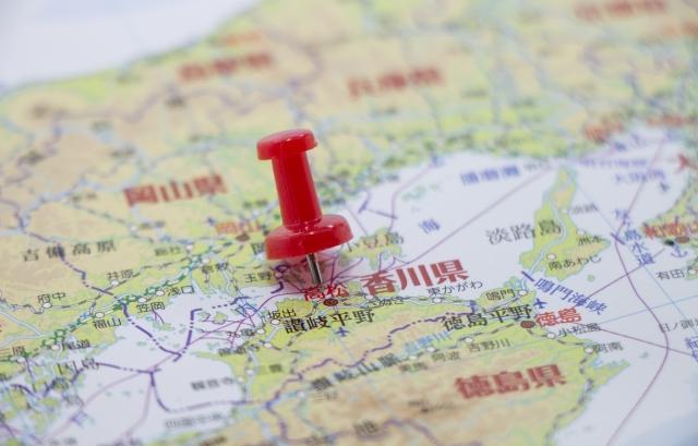 香川県の面積が日本一小さくなった?大阪に逆転を許した理由を解説!