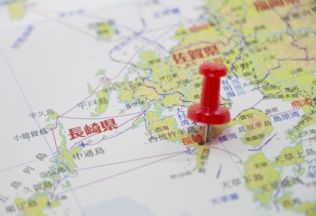 長崎県の大きさはどのくらい?面積・人口・人口密度を比較解説!
