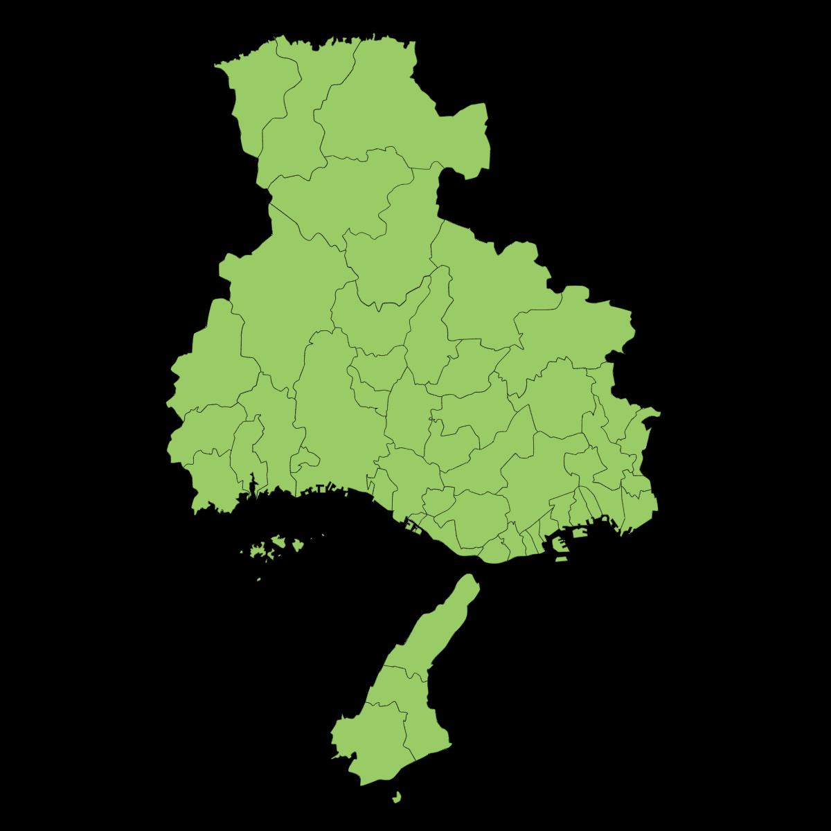 兵庫県の大きさはどのくらい?面積・人口・人口密度を比較解説!