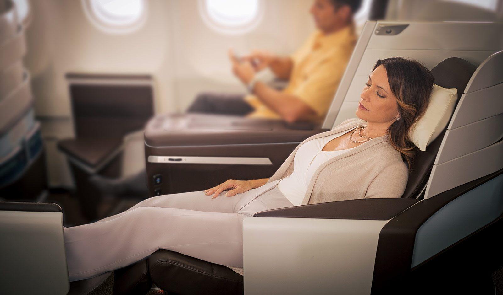 ハワイアン航空のビジネスクラスってどんな感じ?シート・サービスを解説!