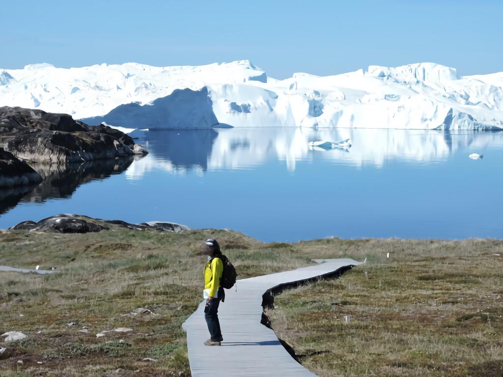 グリーンランドの面積は思ってたのとぜんぜん違う!本当は結構小さい!