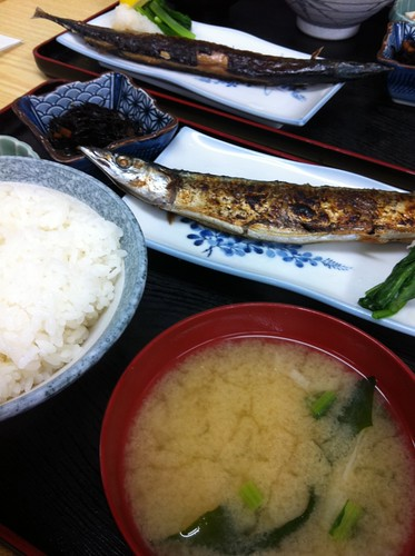 What is the recommended Japanese food around Azabujuban?