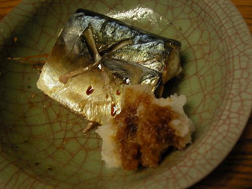 Japanese food around Azabujuban