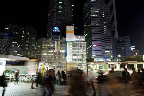 How to access Shibuya from Shinjuku