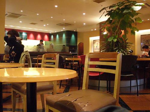 Excelsior Cafe Shinjuku Sompo Japan Building