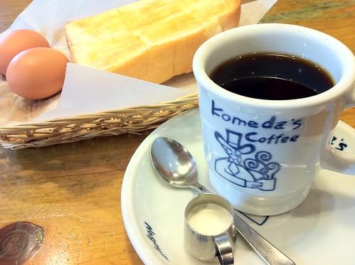 komeda Coffee Shinjuku Yasukuni Dori
