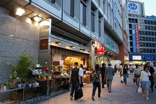 Shinjuku's conveyor belt sushi recommended