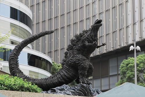 Hibiya Godzilla Square