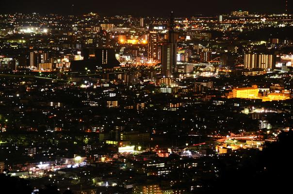 静岡市 居酒屋 夜景