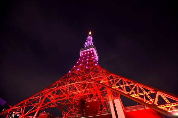 11 recommended hotels with a view of Tokyo Tower!  The night view from the room is outstanding!  Image of