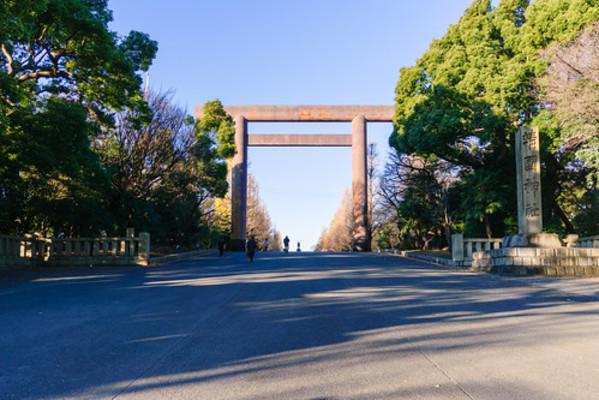 初詣 靖国 神社