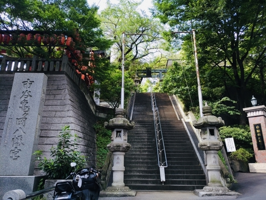 Visit the red stamp at shrines around Shinjuku! Investigate recommended power spots and profits! Image of