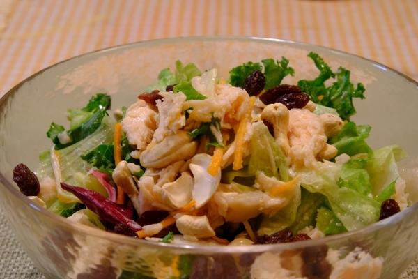 サラダ チキン 食べ 方