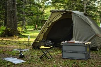 鉄山 キャンプ 場