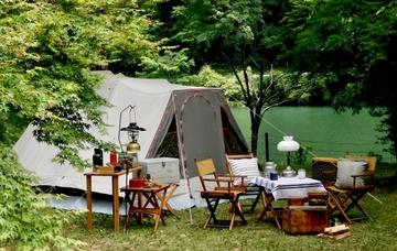 キャンプ 場 杉山 若