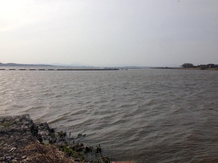 アメナマ釣りの場所