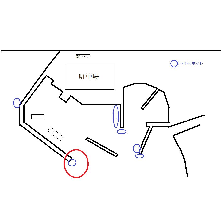 野北漁港オリジナルマップ
