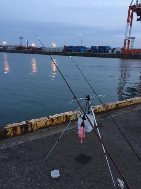 アナゴ釣り