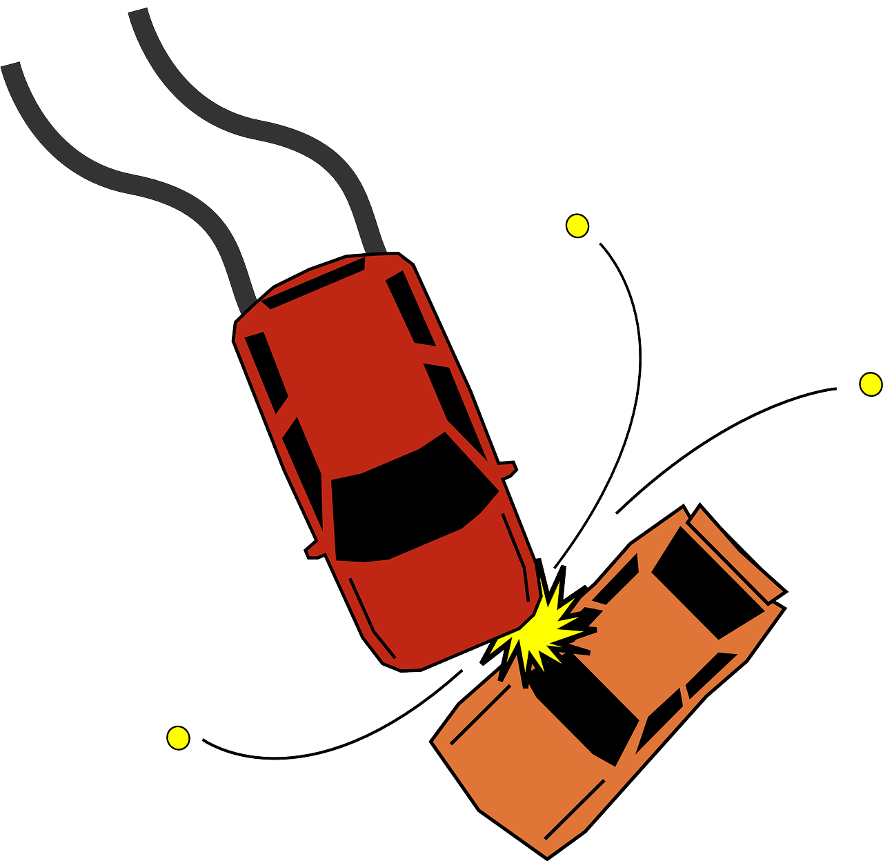 に 夢 れる 車 轢か