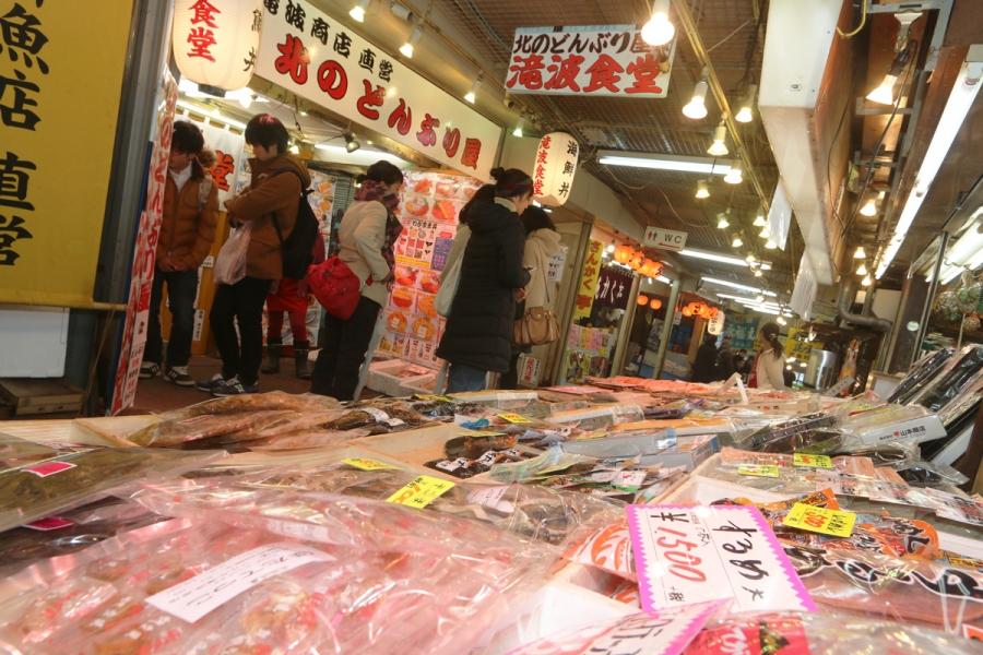 小樽の市場・朝市おすすめまとめ!食事も美味しい!新鮮な魚介を味わう!