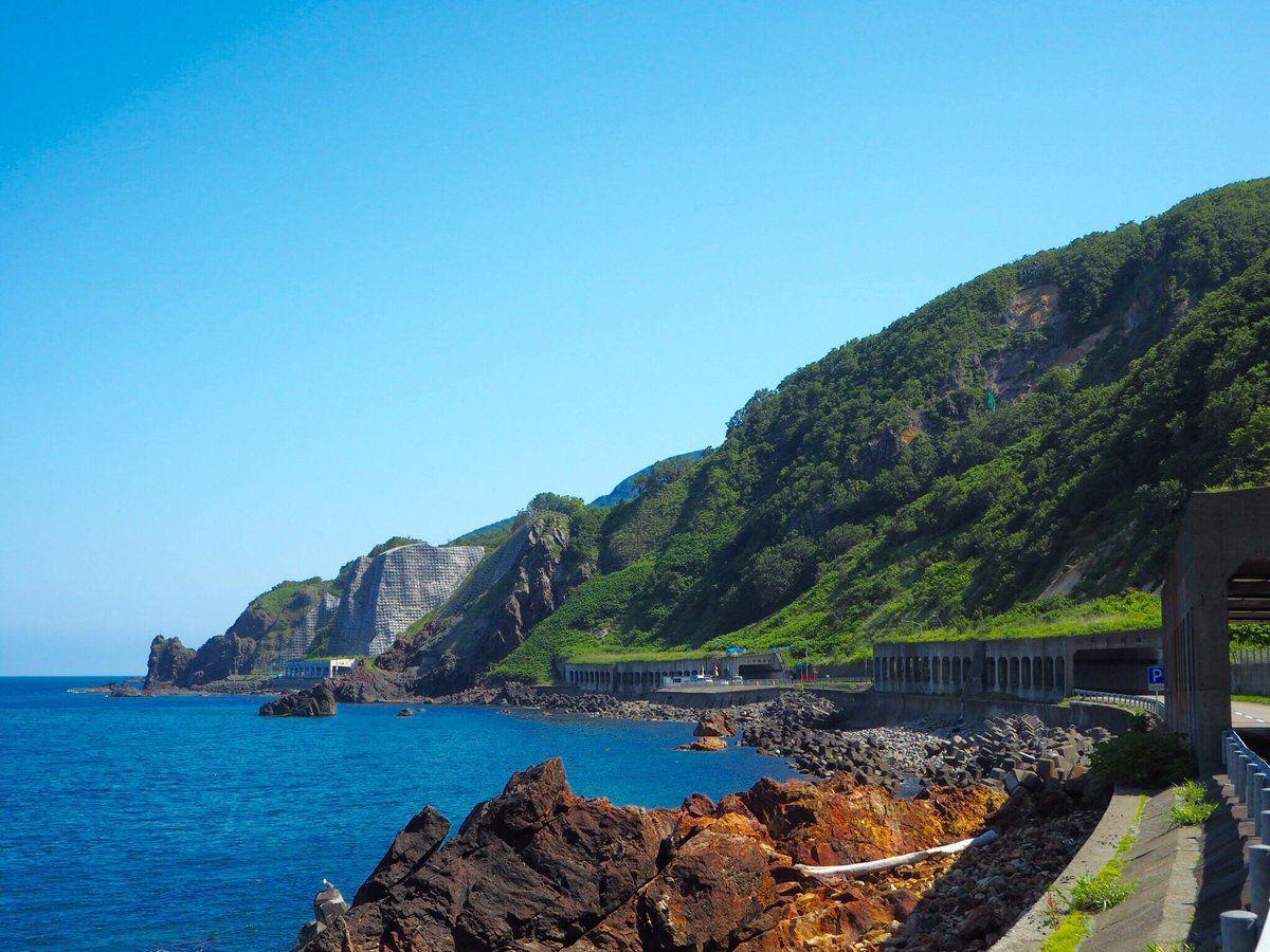 オロロンラインをドライブ!周辺グルメや観光スポットを紹介!景色が最高!