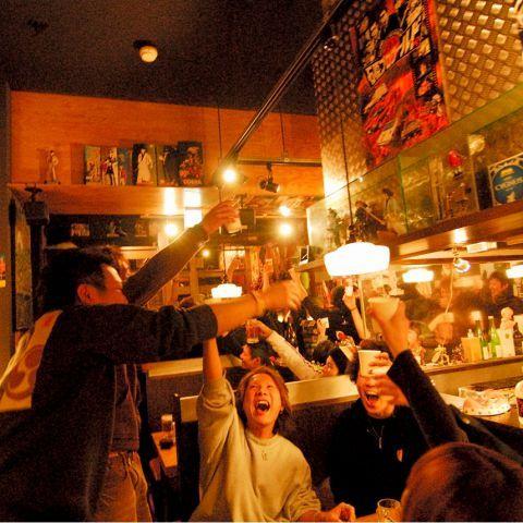 帯広市内の居酒屋おすすめランキング!飲み放題あり!デートにも!