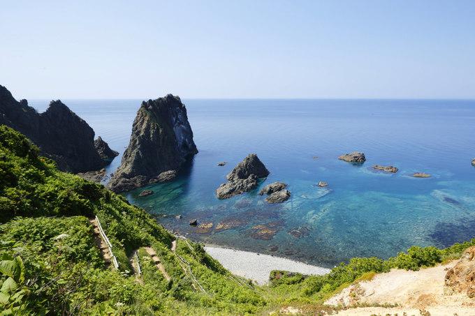 島武意海岸の景色が絶景!積丹ブルーに感動!シュノーケリング体験も!