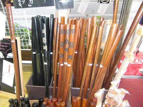 洞爺湖の木刀がお土産で人気!理由は銀魂?値段は?記念におすすめ!