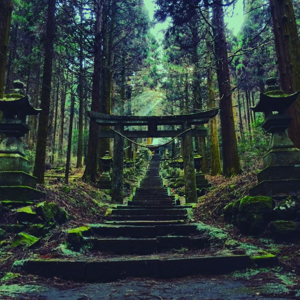上色見熊野座神社へのアクセスは?阿蘇高森にある神秘的で別世界の参道!