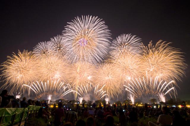 土浦全国花火競技大会に行こう!駐車場やホテル情報・穴場スポットを紹介