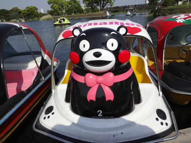 江津湖でボートや散歩を楽しみカフェでランチ!夏は花火大会を楽しむ!