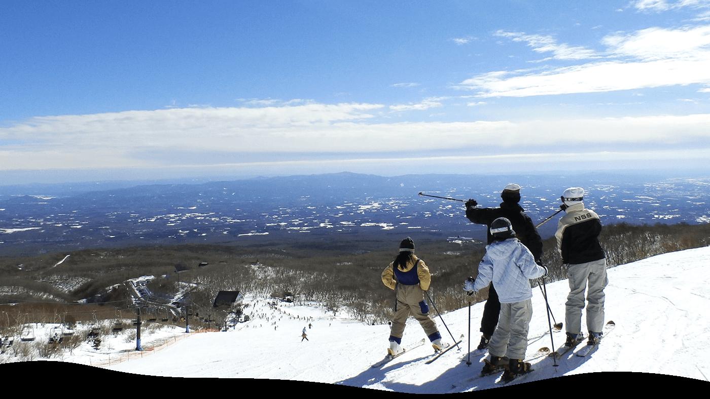 那須のスキー場!子供も楽しいおすすめ5選!スノボやスキーヤー専用ゲレンデも!