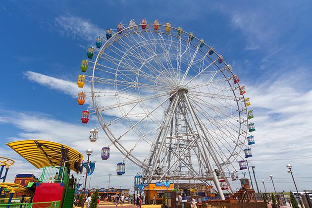キサラピア・木更津の大観覧車のある遊園地!料金や割引プランは?