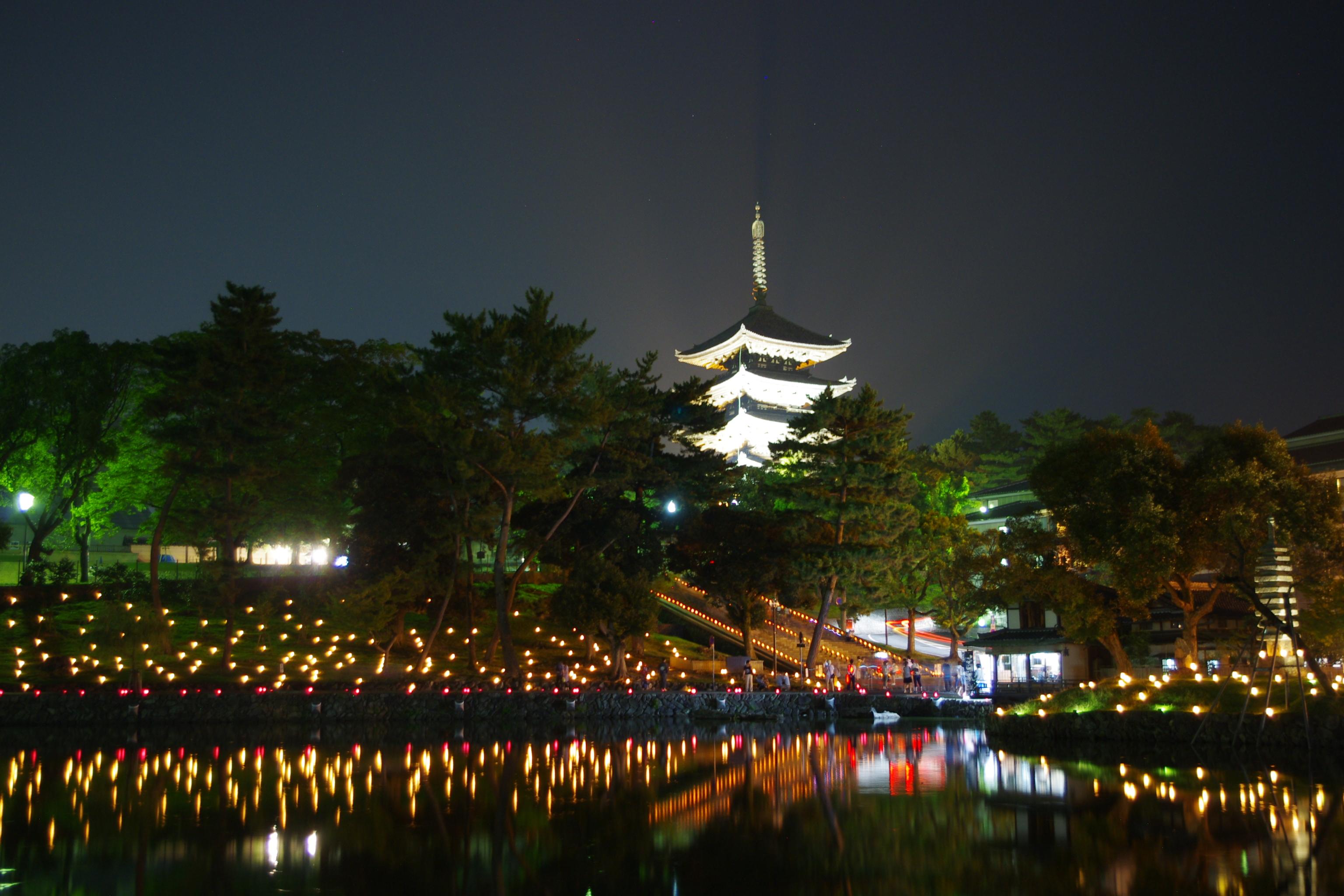 奈良でディナー!夜景が楽しめるデートにおすすめなおしゃれな場所はどこ?