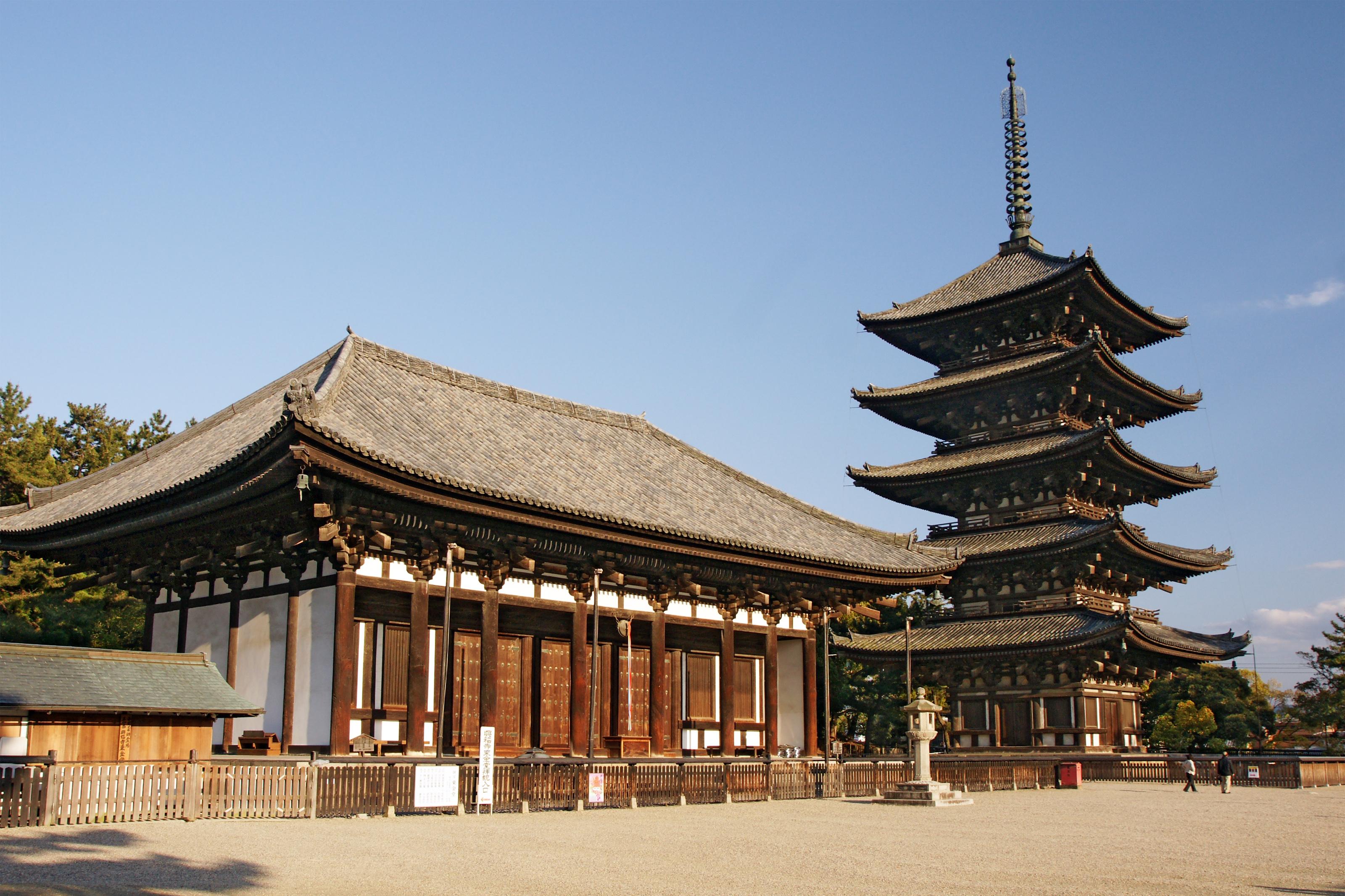 奈良の興福寺・五重塔情報!意味と歴史・拝観料など詳しくご紹介