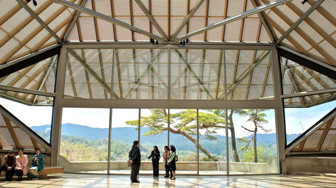 信楽「MIHO MUSEUM」がおすすめ!しだれ桜が満開?アクセスは?