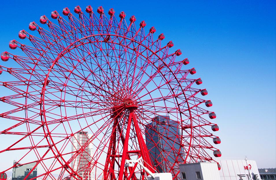梅田にある観覧車(HEP)にジンクスはある?値段や営業時間も!