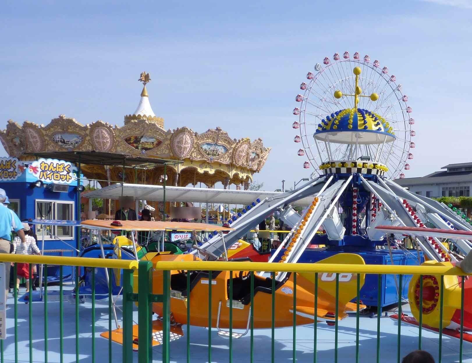 愛知県内の遊園地おすすめ5選!乗り物が安い穴場やデートに人気のスポットも