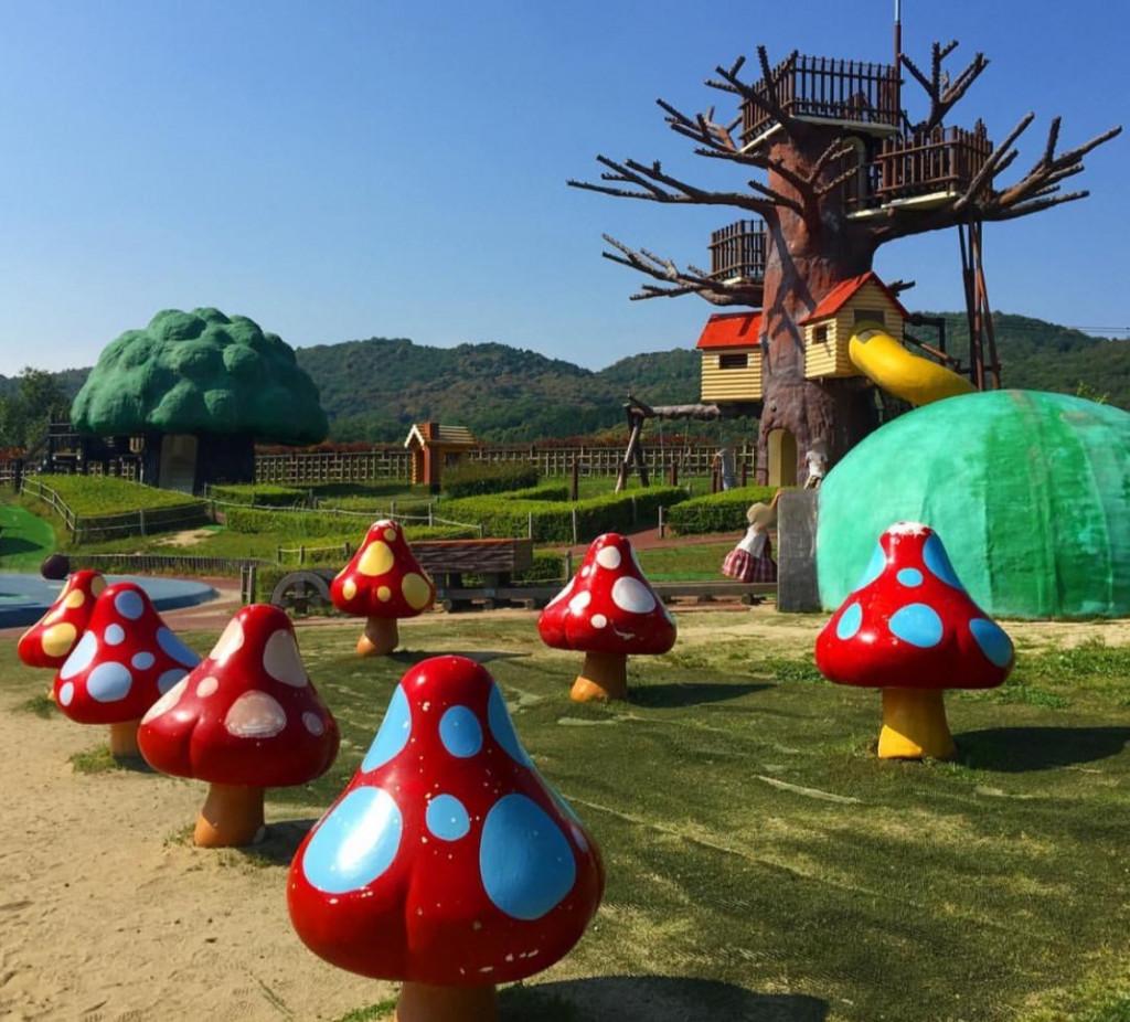 愛知県・公園の人気ランキング!子供も大人も楽しめるアスレチックあり!