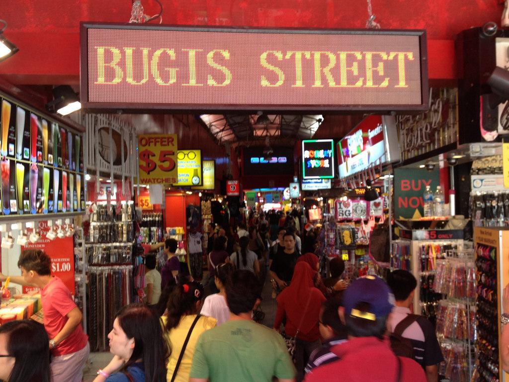 ブギスジャンクションやブギスストリートで買い物・B級グルメを楽しむ!