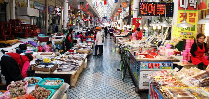 束草(ソクチョ)観光しよう!おすすめスポットはここ!水産市場は人気!