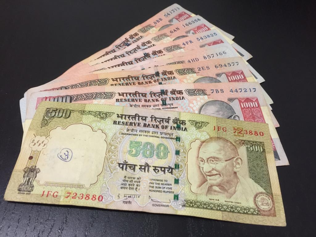インドの物価は?通貨ルピー紙幣・両替しても使えない!現地の買い物事情!